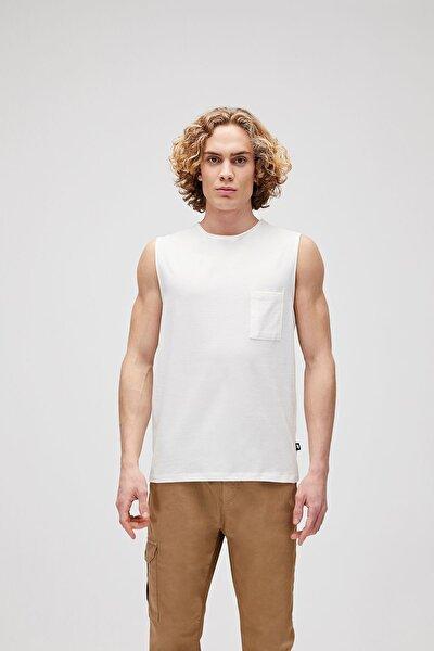 Erkek Simple Tank Sıfır Yaka T-shirt