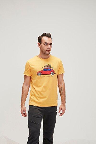 Erkek Sarı Trave Bear Tee Tişört