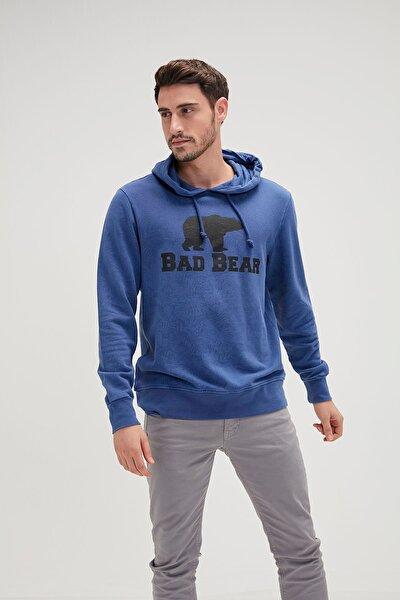 Erkek Indigo Sweatshirt