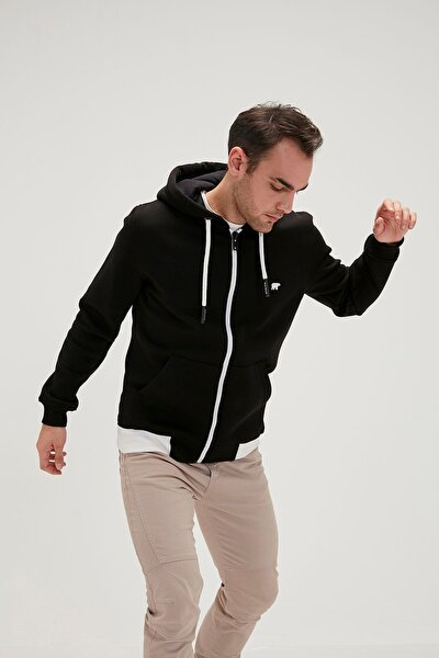 Erkek Sweatshirt Humble Siyah 20.02.12.023-siyah