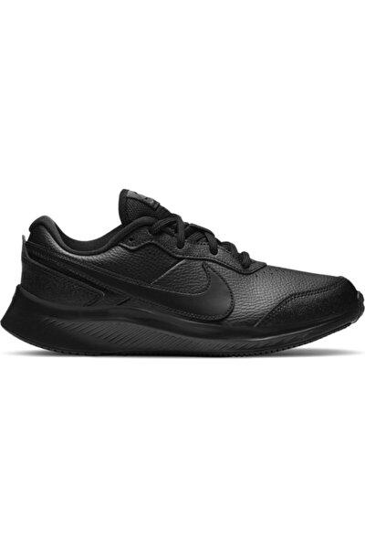 Kadın Siyah Varsıty Leather  Spor Ayakkabı Cn9146-001