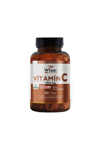 Wiselab Vitamin C 1000mg 30 Bitkisel Kapsül