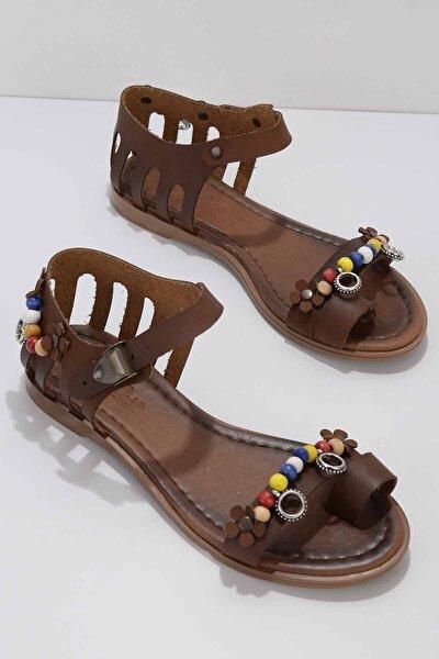 Kadın Kahverengi Sandalet K059421951