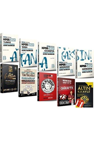 2021 Kpss Gy Gk Atandıran Soru Bankası Süper Full Set 10 Kitap + Altın Kılavuz'lu 5 Kitap Hediye