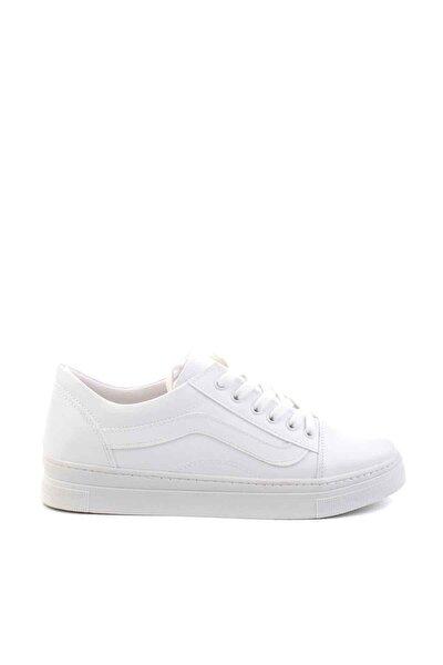 Beyaz Kadın Casual Ayakkabı K01671600009