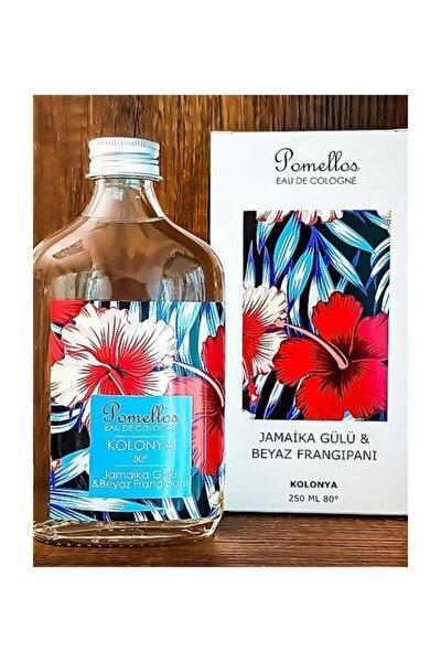 Jamaika Gülü & Beyaz Frangipani Cam Şişe 80 Derece 250 ml