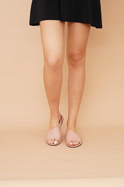 Kadın Pudra Sandalet 001