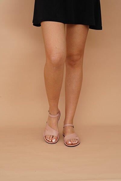 Kadın Pudra Sandalet 009