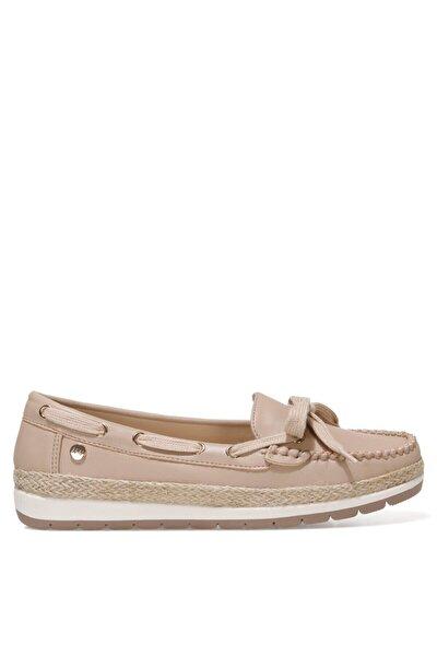 Alıthıen 1fx Kum Rengi Kadın Loafer Ayakkabı