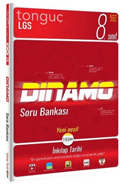 8. Sınıf 2021 Lgs Inkılap Tarihi Dinamo Soru Bankası