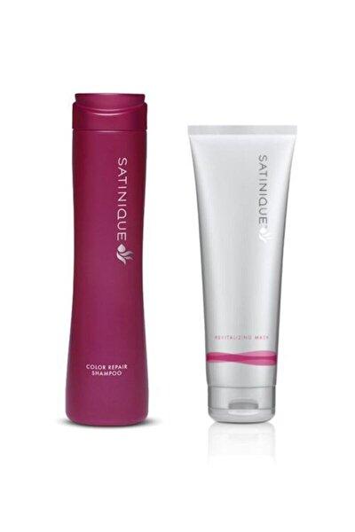 Boyalı Saçlar Için Onarıcı Şampuan Satınıque™ Ve Canlandırıcı Maske Satınıque™