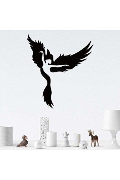 Ahşap Dekoratif Kuş Ve Kadın Tablo Duvar Süsü Duvar Dekorasyonu Ev Hediyesi