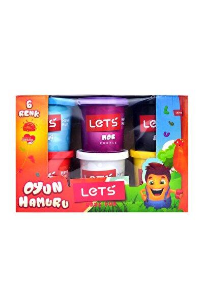 6 Renk Oyun Hamuru 840 gr L8350