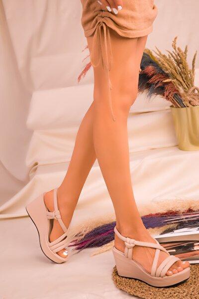 Ten Kadın Dolgu Topuklu Ayakkabı 16261