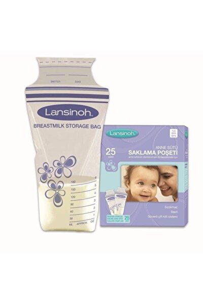 Anne Sütü Saklama Poşeti 25 Adet