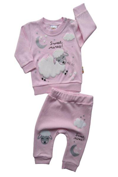 Kız Bebek Pembe Kuzulu 2'li Takım