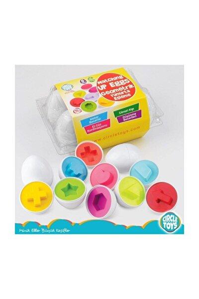 Şekilli Geometrik Yumurtalar Eğitici Oyuncak
