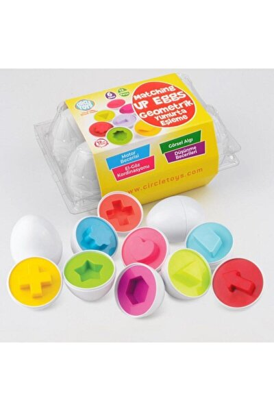 Geometrik Yumurta Eşleme 6'lı