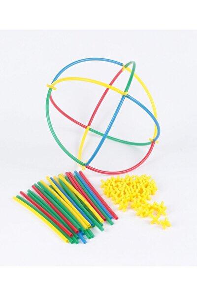 Kutusuz 300 Parça Eğlenceli Bambu Çubuklar Eğitici Zeka Oyunu