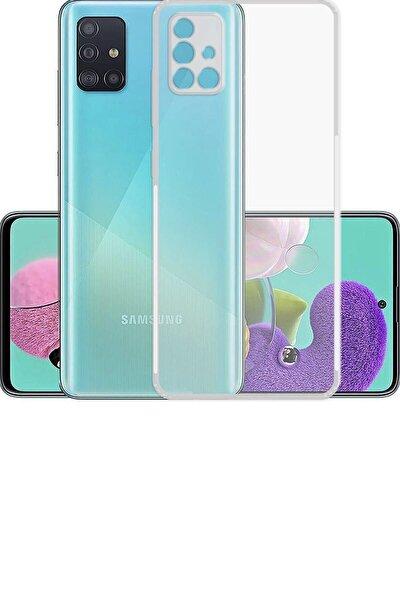 Samsung A71 Şeffaf Kılıf