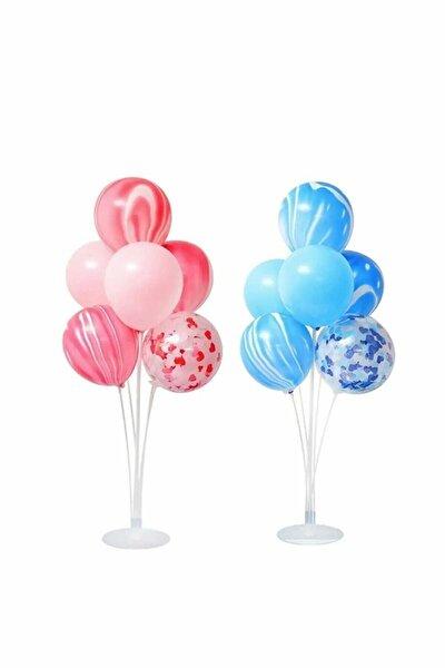 Ayaklı Balon Standı 7'li Ikili Set