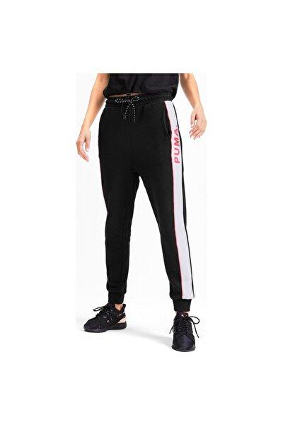 Kadın Siyah Lastikli Paça Spor Eşofman Altı 595226-51