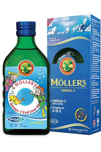 Tutti-frutti Aromalı Omega-3 Balık Yağı Şurubu 250 Ml