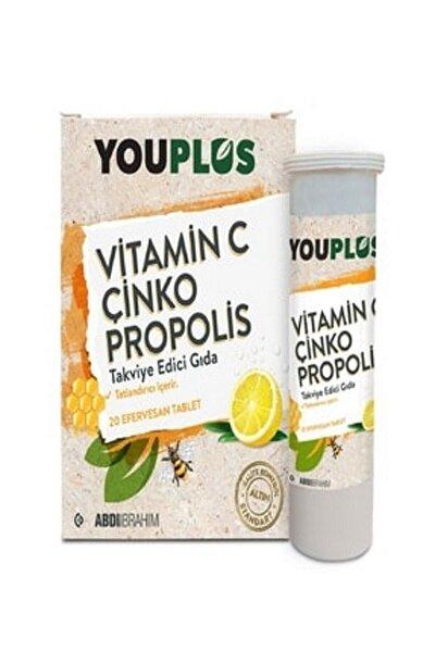 Vitamin C, Çinko, Propolis