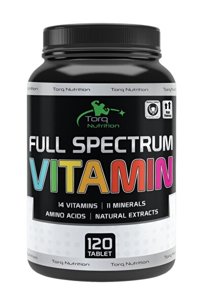 Full Spectrum Vitamin 120 Tablet | Multivitamin - Multimineral