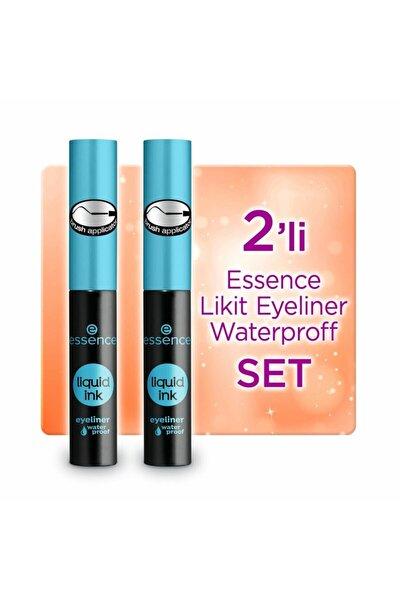 Likit Eyeliner Waterproff 2'li