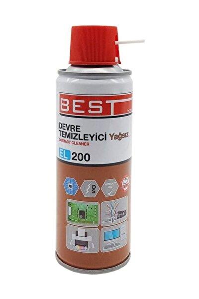 El200 Contact Cleaner 200 ml Yağsız Devre Temizleyici Sprey