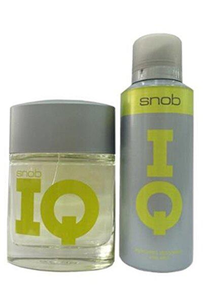 IQ Edt 100 ml + 150 ml Deodorant Erkek Parfüm Seti 8690644012235