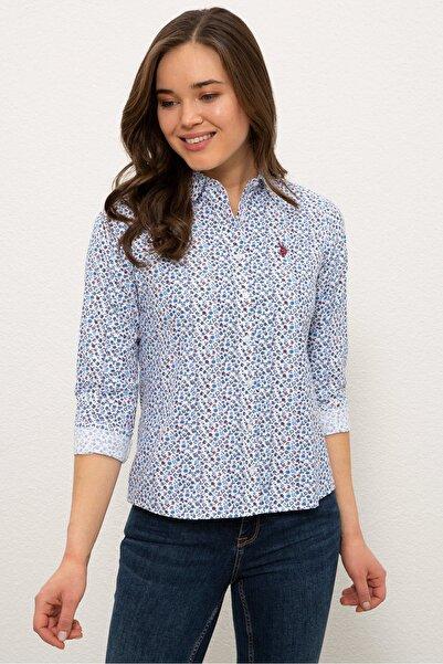Mavı Kadın Gömlek G082SZ004.000.1269416