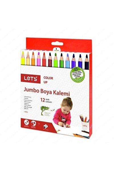 Colorup Jumbo Boya Kalemi Tam Boy 12 Renk Karton Kutu