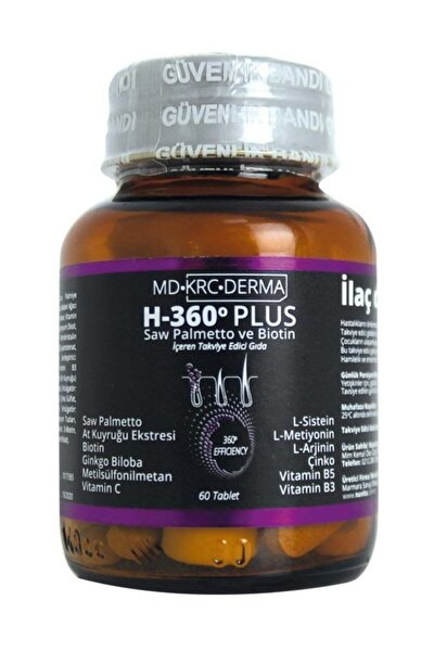 Hair 360 Plus Saw Palmetto Ve Biotin
