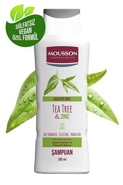 Çinko ve Çay Ağacı İçeren Kepek Karşıtı ve Önleyici Sülfatsız Şampuan 385 ml