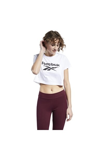 Classics Big Logo Cropped Kadın Tişört