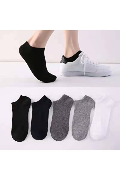 Unisex Yazlık Patik Çorap 5 'li