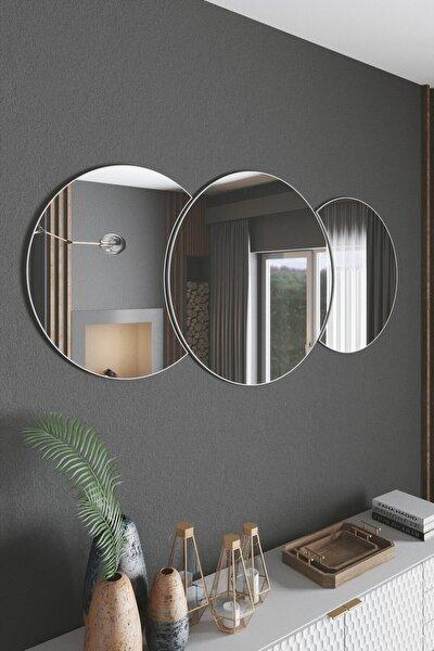 Dekoratif Duvar Aynası 3 Parçalı