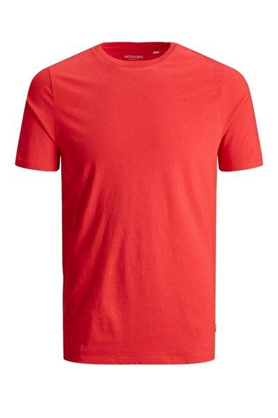 JJEORGANIC BASIC TEE SS O Kırmızı Erkek T-Shirt 101069467