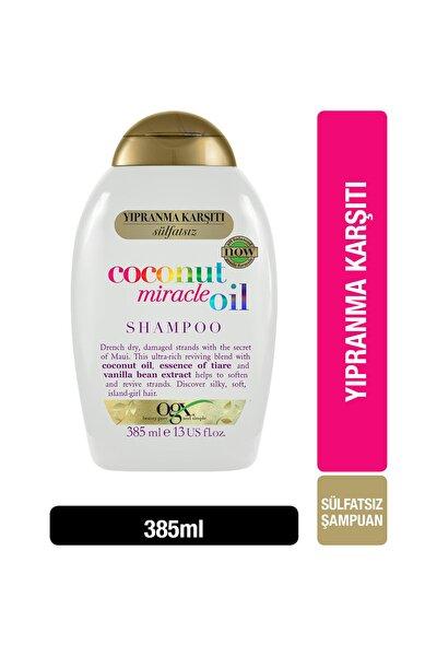 Yıpranma Karşıtı Coconut Miracle Oil Sülfatsız Şampuan 385 ml