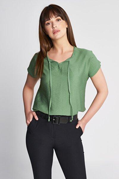 Kadın Bluz Salaş Eteği Lastikli