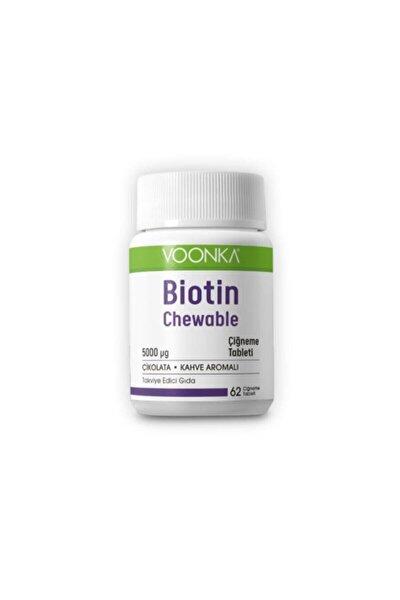 Biotin 5000 Mcg 62 Çiğneme Tableti