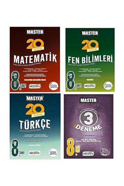 8.sınıf Lgs Master Matematik Fen Türkçe 3 Deneme Seti