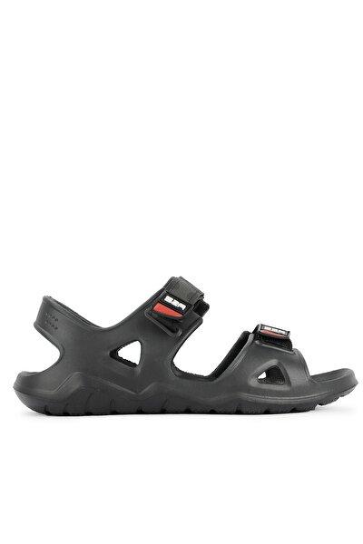 Okra Erkek Sandalet Siyah Sa11se035