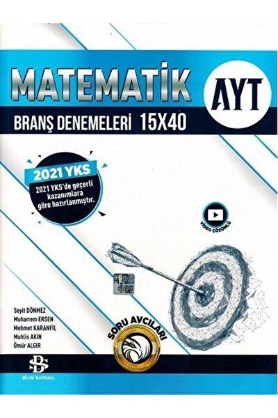 Bilgi Sarmal Ayt Matematik 15 X 40 Branş Denemeleri