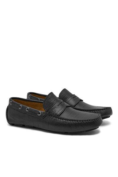 Siyah Stella Erkek Deri Loafer