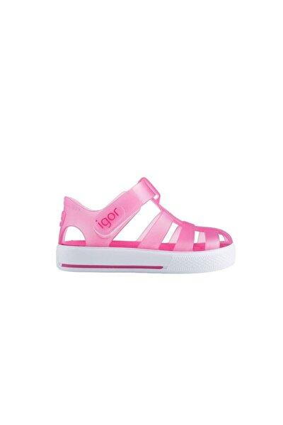 S10171 Star-o99 Fuşya Kız Çocuk Sandalet 100346406
