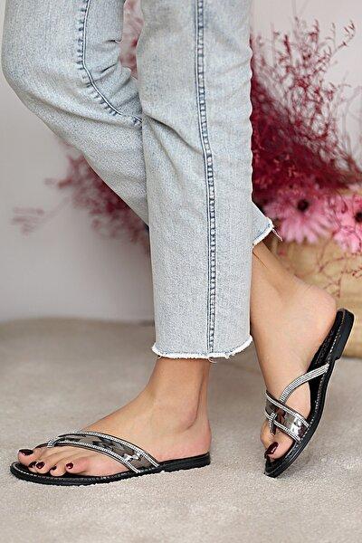 Kadın Platin Sandalet