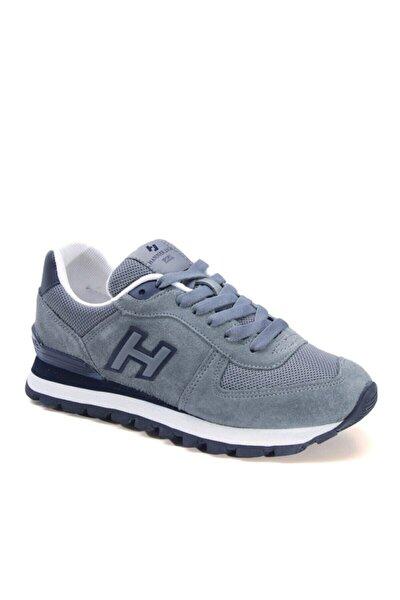 . Kk-102- 19250 .m .peru Nubuk Deri Erkek Spor Ayakkabı Grı